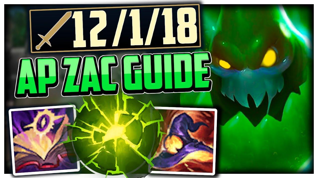 How to ACTUALLY Carry On Zac [CRUSHING MASTERS+ ELO]   Zac Jungle Guide Season 11 League of Legends