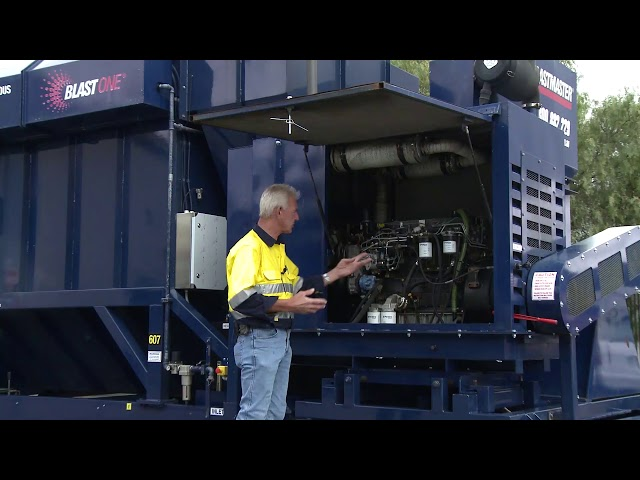 Introduction to Mobile Dust Collectors and the Drive Engine