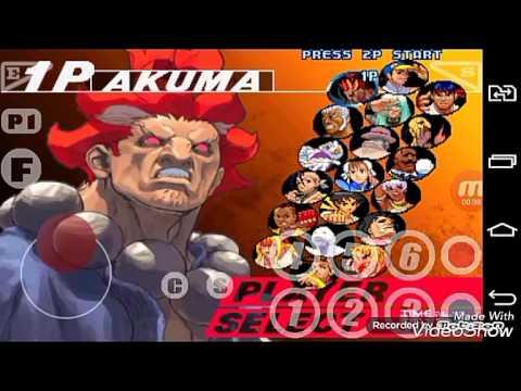 Gameplay - Street Fighter III 3rd Strike - Android (Kawaks)