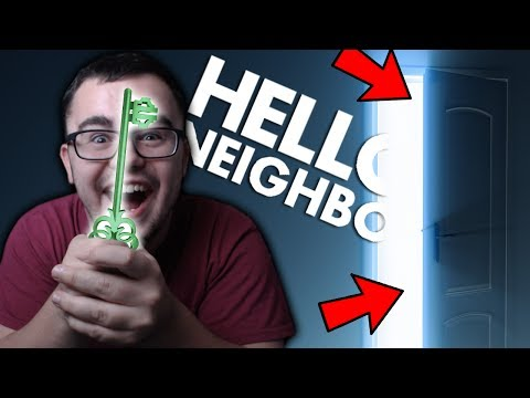 FINDING THE SECRET KEY | Hello Neighbor Alpha 4 - Part 4