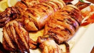 Inihaw na Pusit (Grilled  Squid)
