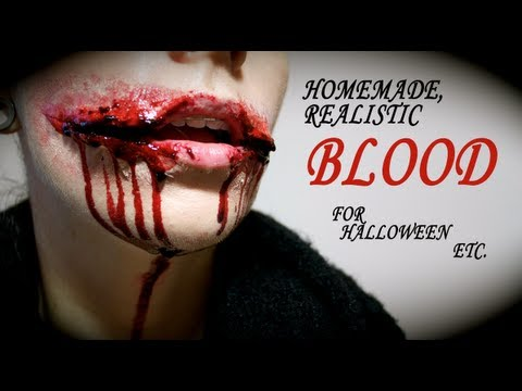 Easy fake blood recipes