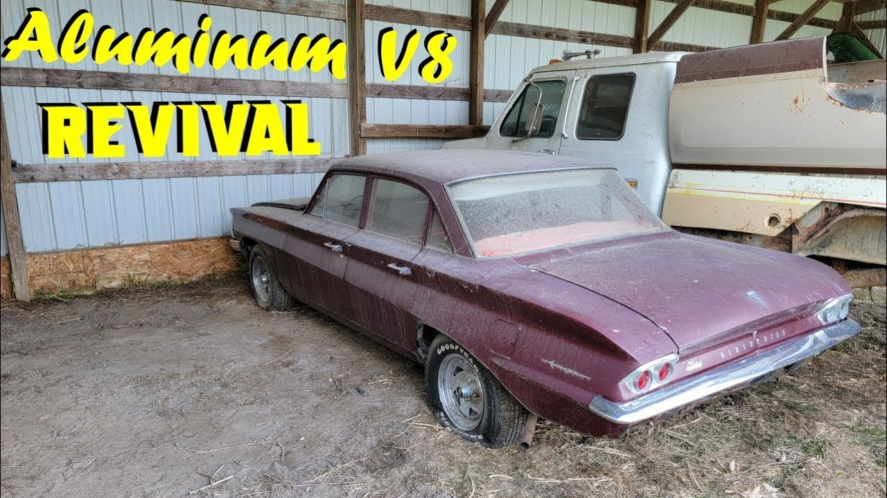 BARNFIND Oldsmobile F-85 First Start in 25 Years!!