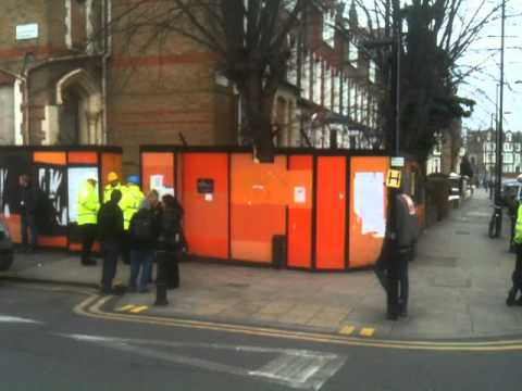 Yet more squatters evicted in Hackney