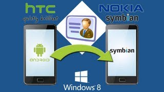 HTC to Nokia Transfer: How to Transfer Contacts from HTC Phone to Nokia Directly?