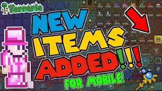 Terraria 1.3 (ANDROID/IOS) ALL ITEMS MAP WITH MODDED STACKS AND ADDED MORE ITEMS!! (DOWNLOAD)