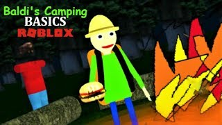 CAMPING BALDI FOREST UPDATE IS OUT!!! | The Weird Side Of Roblox