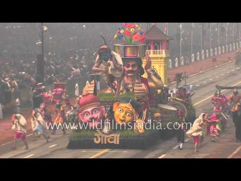 Goan tableaux depicts ancient mask dance 'Perni Jagor' on R-Day
