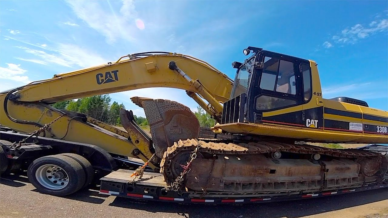 CATERPILLAR 330 BL EXCAVATOR -- 80,000 LB  -- Film 3