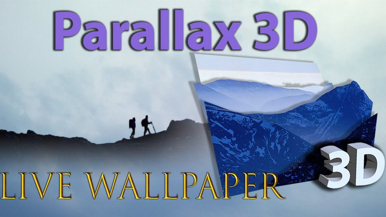 Parallax 3d Live Wallpaper On Android Youtube