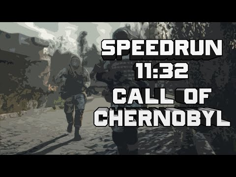 SPEEDRUN СТАЛКЕР CALL OF CHERNOBYL