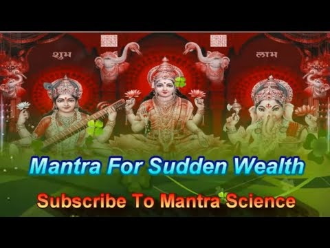 Deepawali - Mantra For Sudden & Unexpected Wealth
