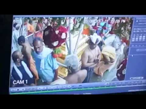 Sabarimala I CCTV footage shows three pouring liquid