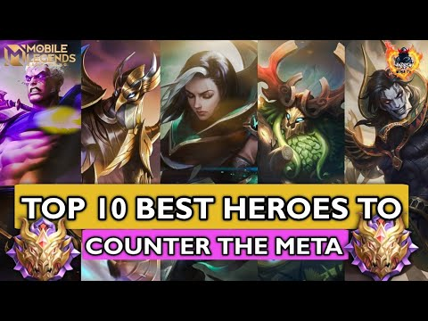 Download 10 BEST HEROES TO COUNTER META HEROES SEASON 20 | MOBILE LEGENDS HOW TO COUNTER
