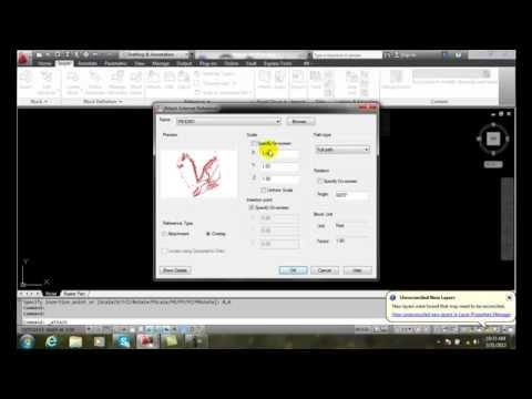 AutoCAD II  31-9 Attachment vs Overlay