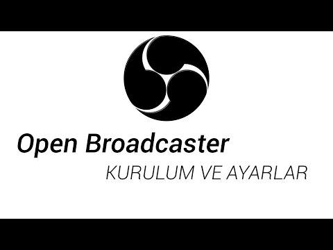 Open Broadcaster Software(Obs) Kurulum ve Ayarlar