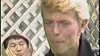 David Bowie in Cannes 1983
