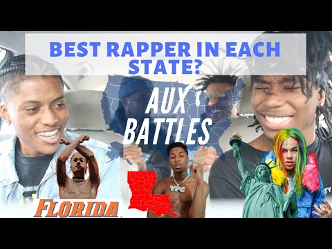 AUX BATTLES: Best Rapper From Each State Ft: Lil Tecca DaBaby and more