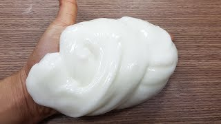 DIY Dish Soap Fluffy Slime!! No Shaving Cream, No Toothpaste!, MUST WATCH!