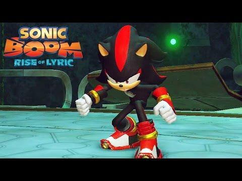 Sonic Boom Rise of Lyric #03: Vs Shadow the Hedgehog - Boss Battle - Exclusivo Nintendo Wii U