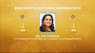 Invitation - Suryadatta National Awards and Foundation Day