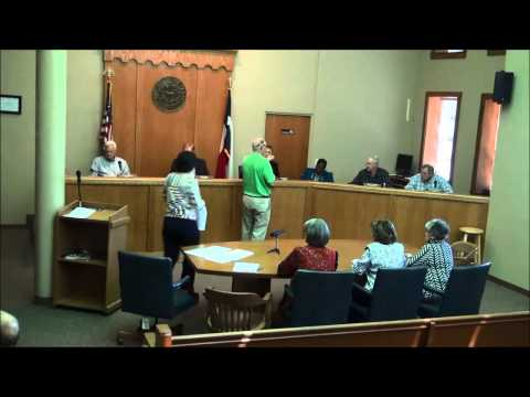 Titus County Texas Commissioners' Court held on November 10, 2014