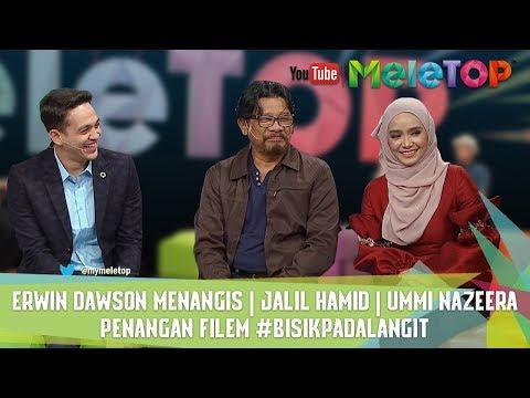 Erwin Dawson Menangis I Jalil Hamid I Ummi Nazeera I Penangan Filem #BisikPadaLangit I Nabil & Scha