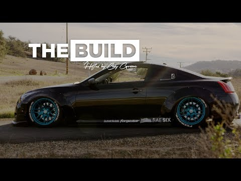 The Build | Gorgeous Slammed Wide Body G37
