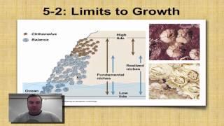Chapter 5 Part 3 - Density-Dependent Limiting Factors