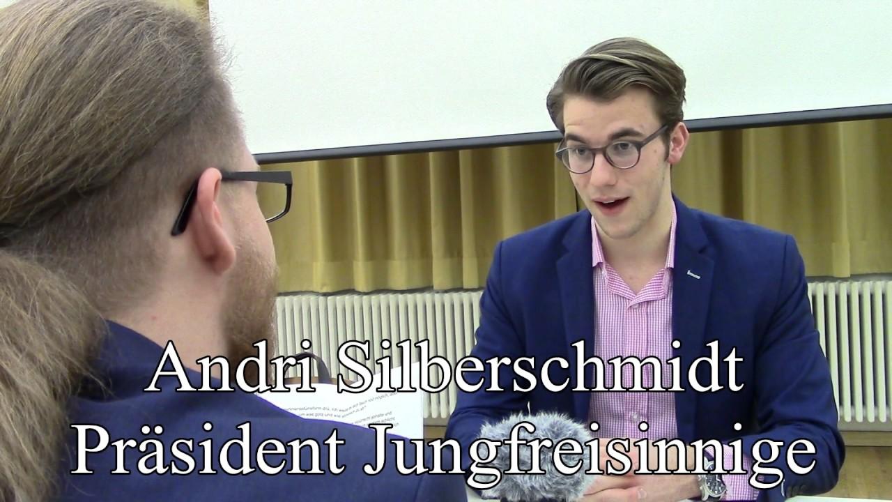 Interview Andri Silberschmidt Präsident Jungfreisinnige