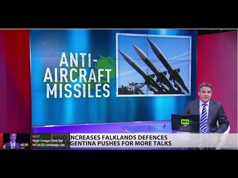 £47m spent to step up Falkland Island defences