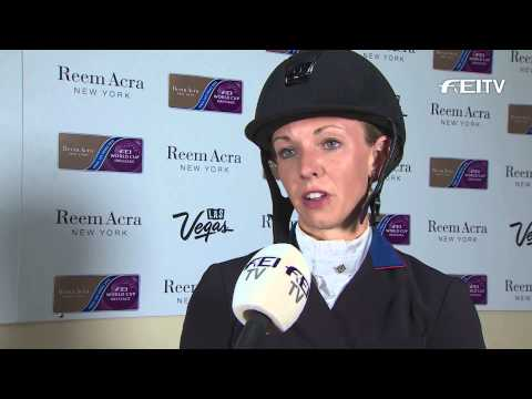Reem Acra FEI World Cup™ Dressage Final 2015 Las Vegas - Laura Graves