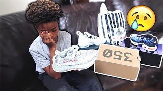 I BOUGHT MY BROTHER YEEZYS + MORE! (He cried?)