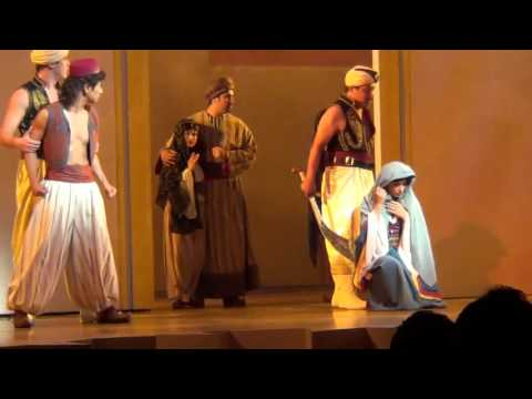 Video #2 of Aladdin: A Musical Spectacular at Disney California Adventure (Recorded on 9/12/12)