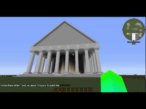 Minecraft Greek Temple
