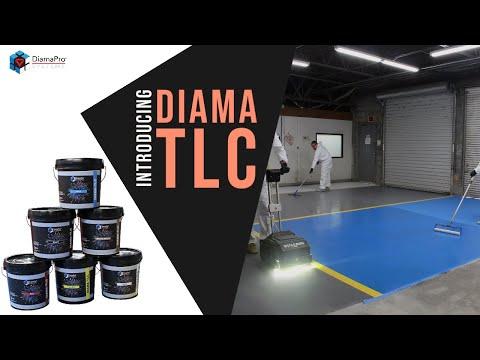 Introducing Diama-TLC - Tough Lasting Color for Concrete Floors