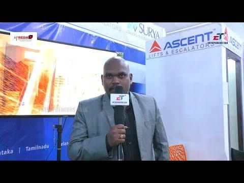 Praveen Kumar RC Business Executive Ascent at APREDA Property Show Guntur 2017