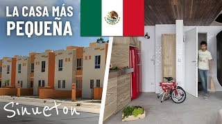 La Casa más Pequeña que Puedes Construir en México Legalmente (Proyecto) - Sinueton