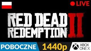 Red Dead Redemption 2 PL ???? LIVE - poboczne ???? Coś pobocznego z St. Denis :) - Na żywo
