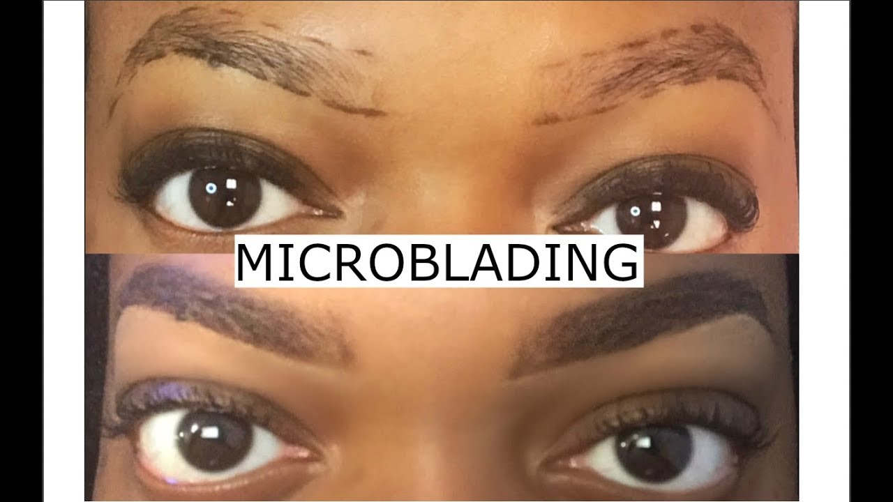 My Microblading Experience Touch Up Youtube
