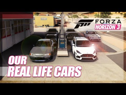 Forza Horizon 3 - Our Real Life Cars Challenge! (Updated)