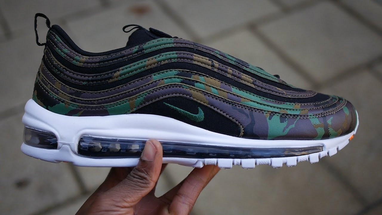 newest 8e8ea 6873f Air Max 97 Country Camo UK Unboxing + Quick Look