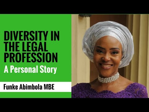 Diversity in the Legal Profession: A Personal Story