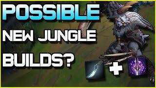 Possible NEW JUNGLE BUILD PATHS? | League of Legends