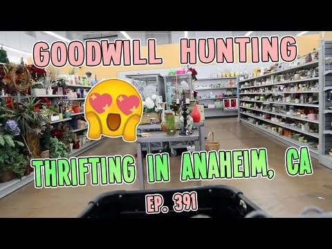 THRIFTING IN ANAHEIM, CA | GOODWILL HUNTING EP. 391