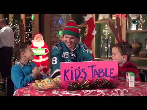 Kids Table - This is a Sharks Holiday Party (2013 Sharks Holiday Video)