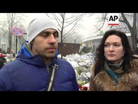 Ukrainians react to Putin's statement on crisis in Crimea