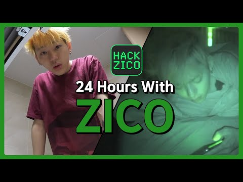Day To Night 24hrs With ZICO [Hack Zico] EP.02 • ENG SUB • Dingo Kdrama