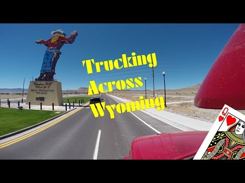 Trucking Across Wyoming