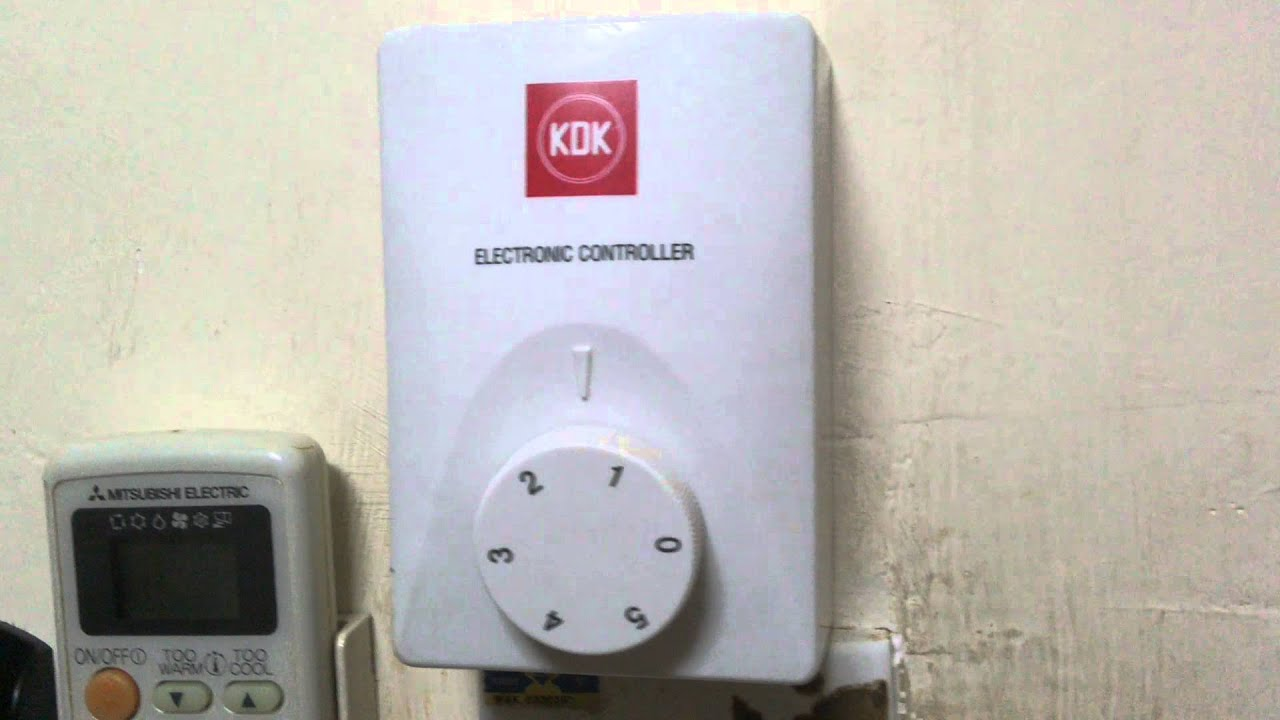 Kdk ceiling fan regulator is not working youtube swarovskicordoba Choice Image